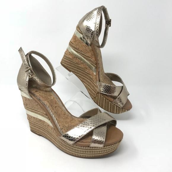 0f1da7dee708 Gianni Bini Shoes - Gianni Bini 7 Espadrille Wedge Sandals Shoes